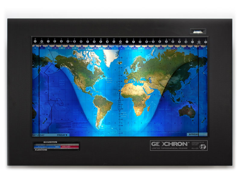 Geochron Topographical